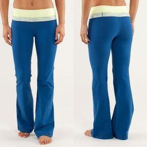 Lululemon Groove Pant Limitless Blue Size 2